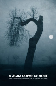 Capa DVD A Água Dorme de Noite (Henrique Patrício)
