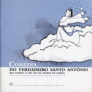 Capa da Brochura «Comédia do Verdadeiro Santo António»