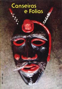 Capa da revista Canseiras e Folias