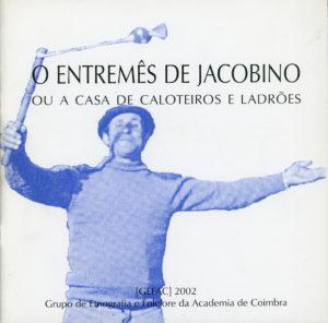 Capa da brochura «O Entremês de Jacobino»